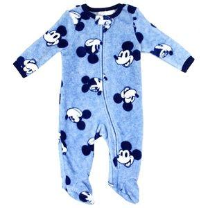 🎁✨Mickey Mouse Blue Newborn Boys Sleeper. 0-9M